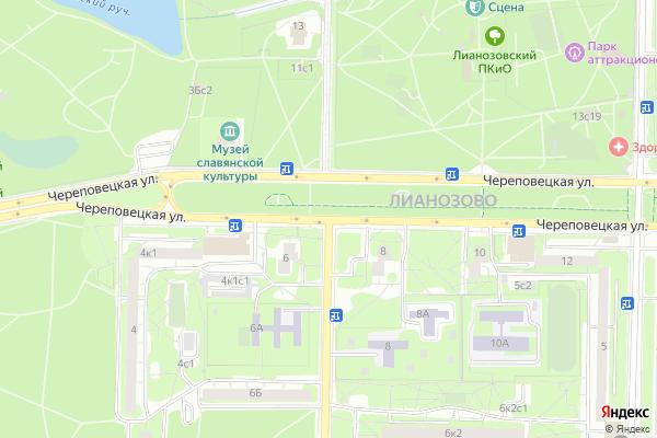 Ремонт телевизоров Улица Угличская на яндекс карте