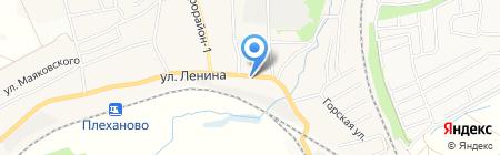 Магазин продуктов на ул. Ленина на карте Хрущёво