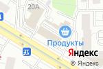 Схема проезда до компании Sweety в Москве