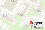 Схема проезда до компании РСБ Групп в Москве