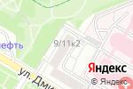 Схема проезда до компании Элмист в Москве