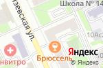 Схема проезда до компании Магнит-Косметик в Москве
