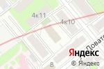 Схема проезда до компании Московский драматический театр под руководством А. Джигарханяна в Москве