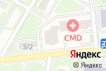 Схема проезда до компании Белая звезда в Щербинке