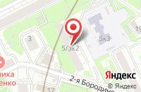 Схема проезда до компании Кардиолюкс в Москве
