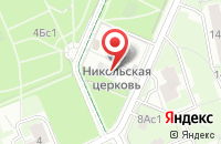 Схема проезда до компании Двсб Групп в Москве