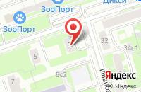 Схема проезда до компании Карикатура.ру в Москве