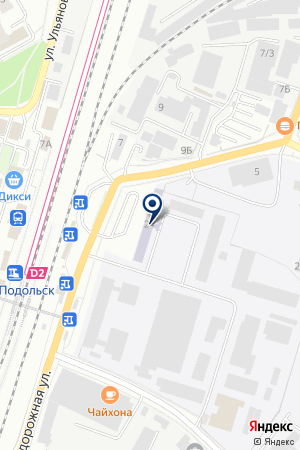 НПФ ВАРИАНТ-2 на карте Подольска