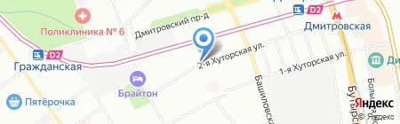 Mirland на карте Москвы