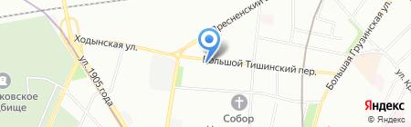 Берег Мультистрой на карте Москвы