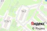 Схема проезда до компании Ратмир, ГБУ в Москве
