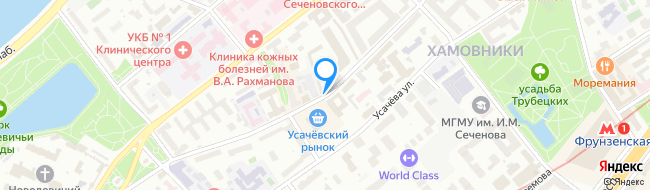 Малая Пироговская улица