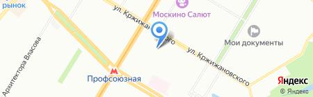 Проммашсервис на карте Москвы