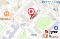 Схема проезда до компании Луидор в Москве