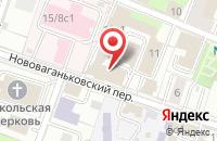 Схема проезда до компании Метеорология и Гидрология в Москве