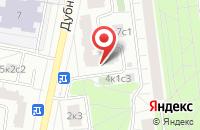Схема проезда до компании Новпринт в Москве