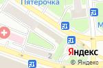 Схема проезда до компании Союз художников в Москве