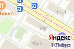 Схема проезда до компании ЮРТЭС в Москве