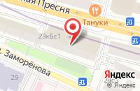 Схема проезда до компании Дизайн Строй Сервис в Москве