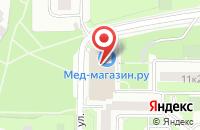 Схема проезда до компании Алианс в Москве