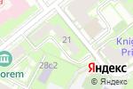 Схема проезда до компании Д-Консалтинг в Москве