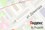 Схема проезда до компании Санта МР в Москве