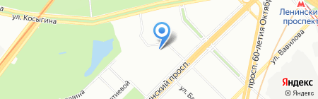ЛВ-тур на карте Москвы