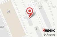 Схема проезда до компании ФД Логистик в Подольске