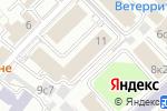Схема проезда до компании РТ-Химкомпозит в Москве