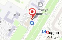 Схема проезда до компании Спецоснащение в Москве