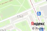 Схема проезда до компании Элегия А.Д. в Москве