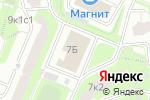Схема проезда до компании Дизайн дома в Москве