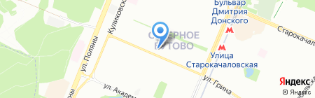 ВИП Саншайн на карте Москвы