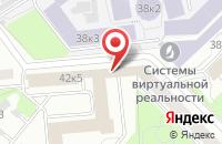 Схема проезда до компании Диалог Строй в Москве