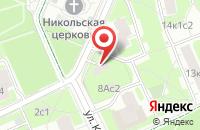 Схема проезда до компании Эволюшн в Москве