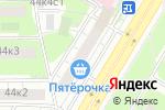 Схема проезда до компании Столичные аптеки в Москве