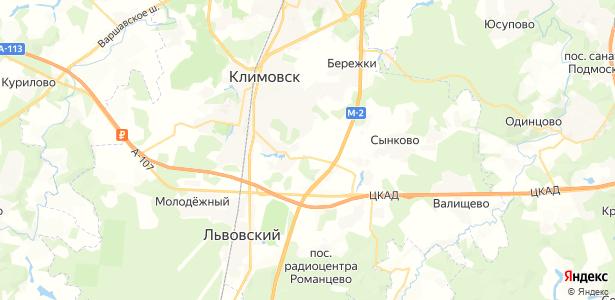 Гривно на карте