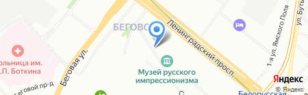 Элиос на карте Москвы
