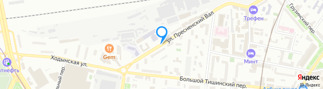 улица Пресненский Вал