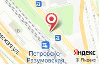 Схема проезда до компании Принт-Пресс в Москве