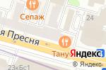 Схема проезда до компании Сканер в Москве