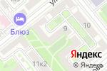 Схема проезда до компании Кабинет психологической помощи Лидии Иншиной в Москве