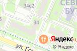 Схема проезда до компании Мка двери в Москве
