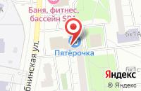 Схема проезда до компании Багет и Печать в Москве