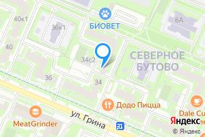 Сдается трехкомнатная квартира в Москве м. Улица Старокачаловская, улица Грина, 34к1