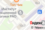 Схема проезда до компании Резонанс в Москве