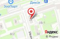 Схема проезда до компании Креатив в Москве