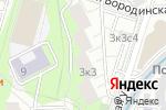 Схема проезда до компании Марлен в Москве
