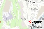 Схема проезда до компании Deloss в Москве