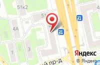 Схема проезда до компании Атван в Москве